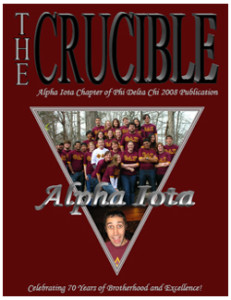 Crucible Cover 2008