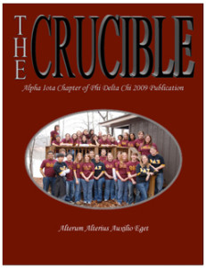 Crucible Cover 2009