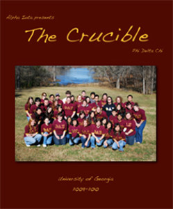 Crucible Cover 2010